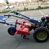 园林硬土质松土翻耕机 农用手扶翻地机 鼎达机械