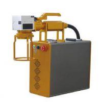 冰岩手持式便携式打码机 轻巧快 光纤激光打标贵金属镭射雕刻机 手持式激光打标