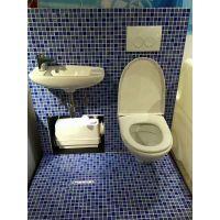 海南三亚海口格兰富污水提升器Sololift2 CWC平层,公寓,复式别墅卫生间专用