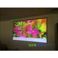 厦门安防监控行业专用上墙大屏幕液晶拼接屏各种拼接规格
