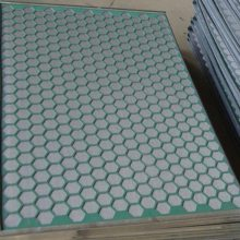 鹤岗耐磨六角孔板式振动筛网批发厂家