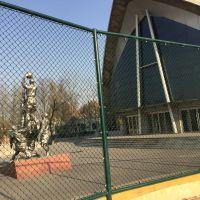篮球场围栏_山东篮球场围栏生产厂家