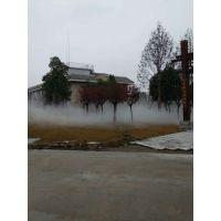 河北园林人造雾景观雾化假山水池喷雾工程