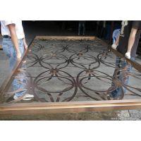 湛江酒店装饰点焊工艺不锈钢屏风-佛山市创美恒不锈钢厂家供应