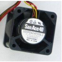 原装三洋 24V 0.055A 109P0424F3D043 4厘米 1U变频器服务器风扇现货