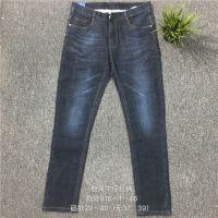 2018广州男装尾货批发市场特价促销品牌男装牛仔裤
