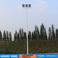 清远室外球场灯杆价格 学校篮球场灯杆布置图 室外灯杆灯柱批发厂家