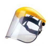 全透明头戴式防护面屏 耐高温防飞溅防冲击面屏