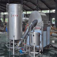 食品油炸设备 加工设备skgt-1200型油炸机 油炸流水价格 供应商厂家