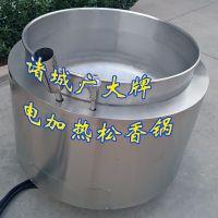 环保松香锅 SXG-800型拔毛黄香锅 广大无烟松香锅