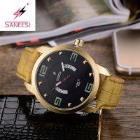 圣依时男士石英表外贸手表批发 saneesi man watchs quartz watch