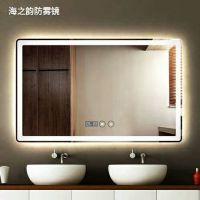 西安厂家定制 高端宾馆酒店KTV带灯浴室镜子 LED灯镜