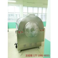 一锅可炒150-300KG的大型全自动电磁炒机,炒瓜子,花生、大豆、芝麻等