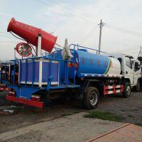 东风多利卡国五排放洒水车绿化喷洒车雾炮车