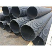昆明双壁排污波纹管 材质HDPE 规格DN200-600