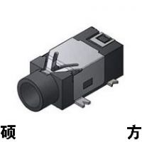 SH耳机插座 2.5耳机插座 PJ-209 外形尺寸:12.0mm*5.0mm*4.0
