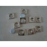 强力磁铁 钕铁硼强磁铁 圆孔 圆环吸铁石带孔 20X3mm-M4带沉孔