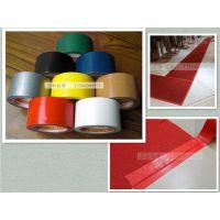 双面地毯胶带 地毯封边胶带 婚庆、酒楼、展会等场所的地毯接缝拼接固定 土棕色银灰色布基胶带红色