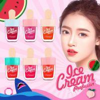 冰淇淋唇釉美妆用品学生款唇彩液体口红不掉色雪糕唇釉现货批发