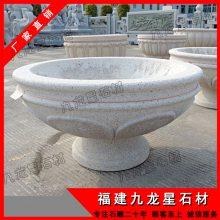 批发特价仿古花盆 石雕鱼缸 青石家居摆件 老石槽水缸 流水盆天
