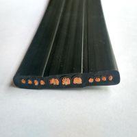 耐油耐酸碱耐盐雾腐蚀扁电缆3*2|4|6+8*0.75|1|2.5|2.0 耐高温耐寒耐低温抗冻电缆