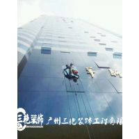 广州高层幕墙玻璃开窗改造13926035458更换幕墙玻璃修缮-更换外墙玻璃胶价格-