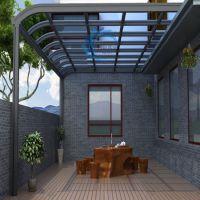 铝合金欧式别墅露台棚雨棚遮阳棚 阳台定制窗棚 遮阳篷停车棚