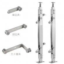 金裕 不锈钢复合钢板立柱 护栏厂家 桥梁护栏防护钢管栏杆销售