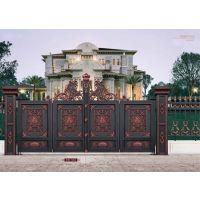 山东亚坤金属铝艺大门护栏,别墅庭院大门护栏