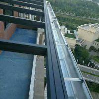 温州铝合金屋檐排水槽铝合金排水管材