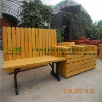 坐凳花箱 商业街坐凳带绿化箱 非常漂亮 组合 带靠背 售楼处绿化种植箱