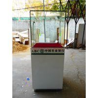 成都艺智柜台厂银行展示柜,贵金属柜台,填票台定制