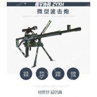 游乐园刺激气炮枪项目乡村旅游娱乐气炮-微型波击炮