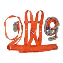 山西忻州坠落防护使用用具双背双保险锦纶材质电工安全带