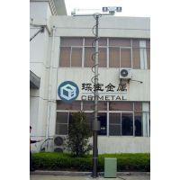 特供上海便携式升降杆 大功率升降杆 倒伏式升降杆 可定制