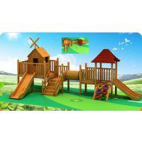 辽阳市户外组合滑梯 幼儿园滑梯 户外游艺设备盘锦市户外木制滑滑梯 儿童娱乐设施 幼儿园组合滑梯