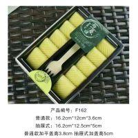 天然木材 10粒装绿豆糕木盒 厂家直销