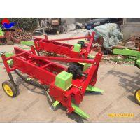 卢氏县新型拖拉机后置花生收获机,农发花生挖掘机