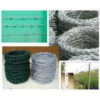 孟业刺绳批发采购 低价优质镀锌刺铁丝 小区刺铁丝防护网