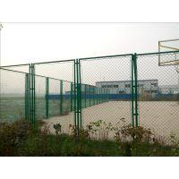 球场护栏网、篮球场隔离栅栏、网球场隔离网、勾花网围栏网润昂定制生产