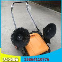 工厂车间专用扫地机无动力手推式可清扫1米宽度双滚刷现货