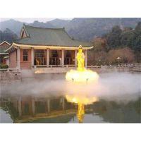 专业生产假山水池边冷雾人造雾工程系统