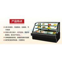 供应面包店常用的中岛形面包展示柜,常温蛋糕柜需要多少钱一台,哪里有卖的