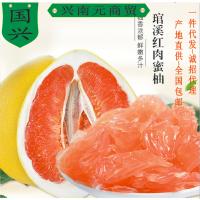 福建闽南台湾柚子红心柚新鲜水果琯溪蜜柚平和柚皮薄内膜如面膜一件代发包邮