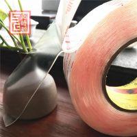 3m4910透明强力无痕双面胶 耐高温汽车泡棉胶带胶带厂家