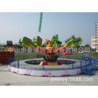 金博新型游乐设备厂家激情跳跃飞机 弹跳机游艺设施生产厂家