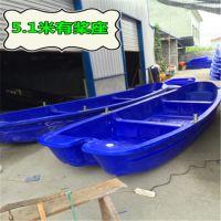 斯伯佳塑料冲锋舟湖蓝色4.1米厂家直销