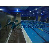 广东快捷拼装式游泳池安装/东莞室内健身房拼装式游泳池价格/广州纵康恒温过滤设备