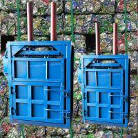 立式塑料矿泉水瓶压块机 启航20吨半自动废纸打包机 立式液压塑料瓶打包机