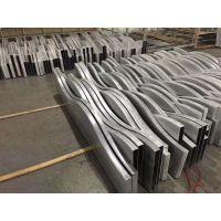 定制大树造型圆柱 波浪弧形铝板